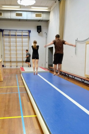 Friday Gymnasium Beginner Gymnastics (incl no experience)